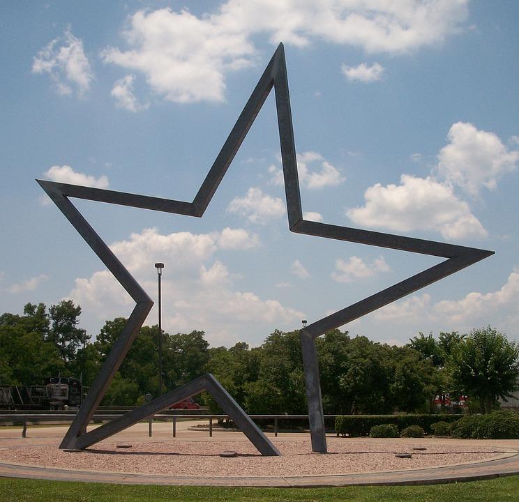 Texas, Star, Welcome Center, Art