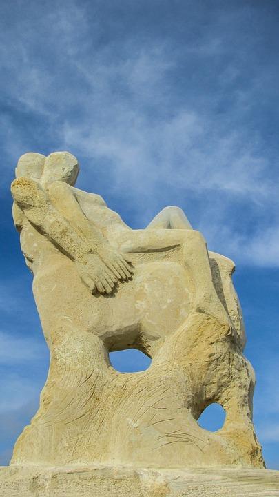 Cyprus, Ayia Napa, Sculpture Park, Centaur, Woman, Art