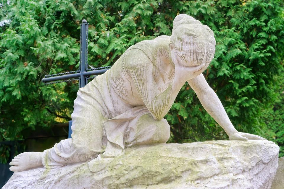 Sculpture, Stone, Article, Artistic, Figure, Woman