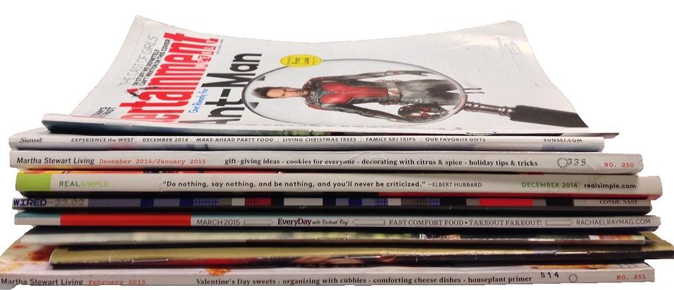 Magazines, Articles, Read