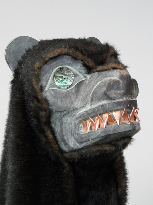 Documenta 14, Kassel, Bear Mask, Shamanism, Artifact