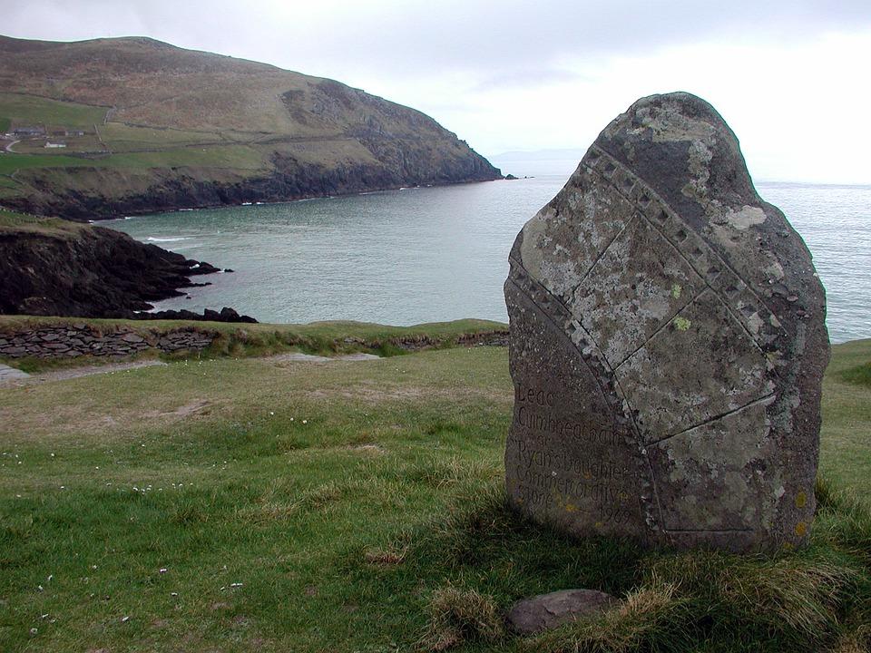 Celtic, Ireland, Stone, Menhir, Artifact, Cliffs
