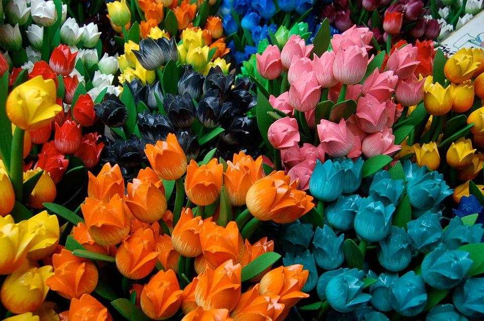 Tulips, Dutch Tulips, Artificial Tulips