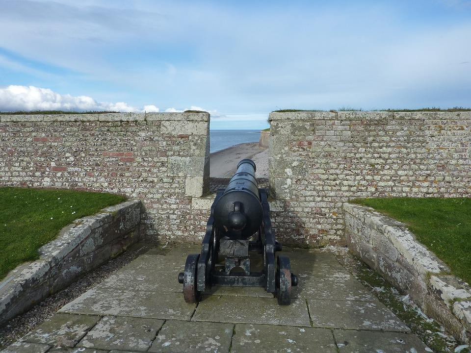 Cannon, Gun, Fort, Weapon, Old, Defense, Artillery