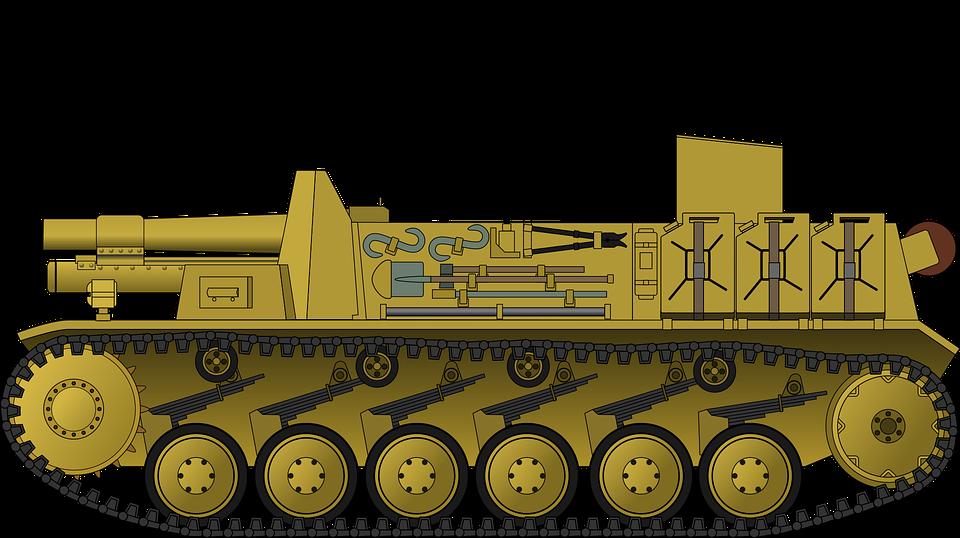 Tank, Panzer, Armor, Military, War, Artillery, Ww2