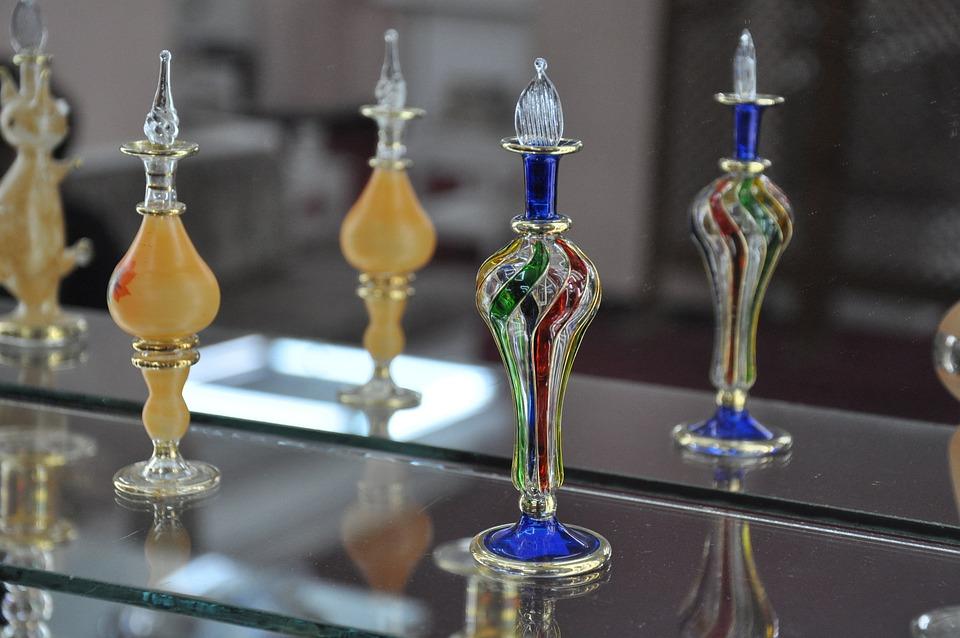 Bottle, Blown Glass, Art, Crafts, Glass, Artist