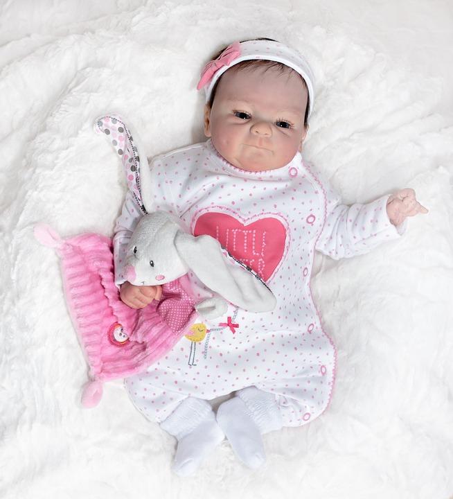 Doll, Baby Doll, Artist Doll, Small, Sweet, Cute