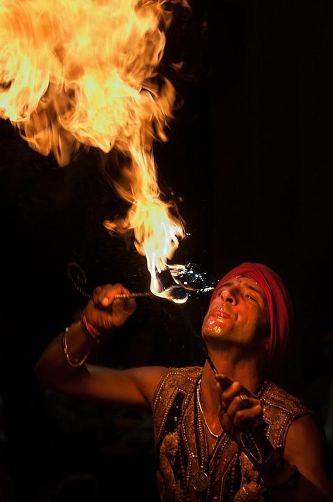 Fire Eaters, Artist, Juggler, Fire
