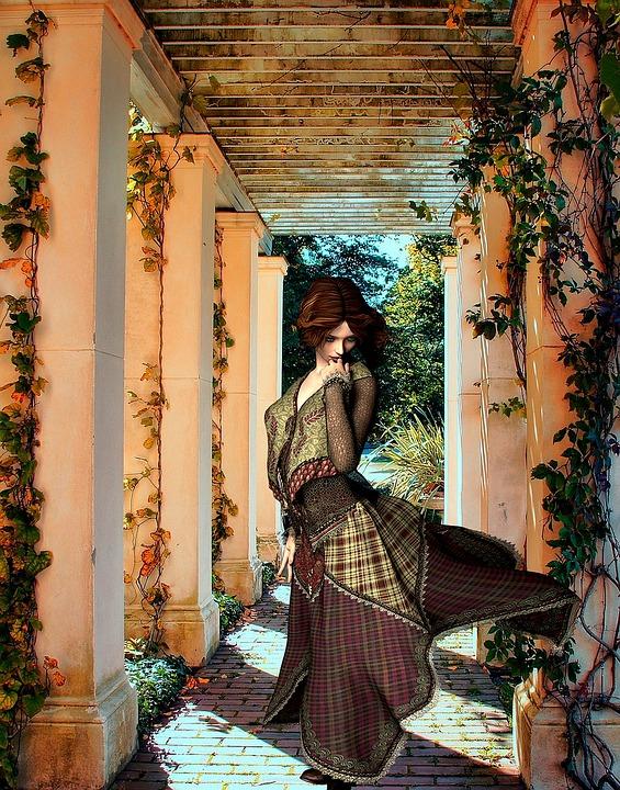 Woman, Dancer, Mystical, Art, Female, Fantasy, Artistic