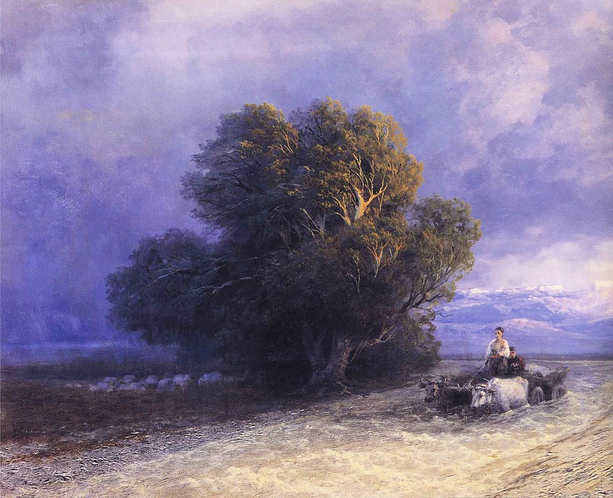 Ivan Aivazovsky, Painting, Oil On Canvas, Art, Artistic