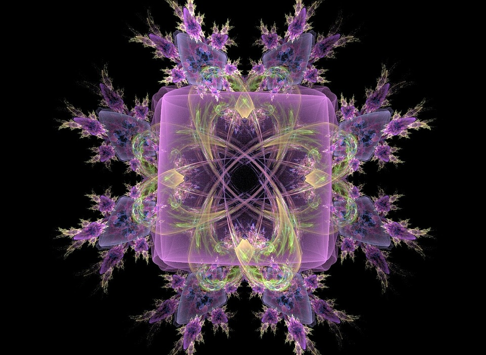 Fractal, Abstract, Artistic, Intricate, Swirls, Bright