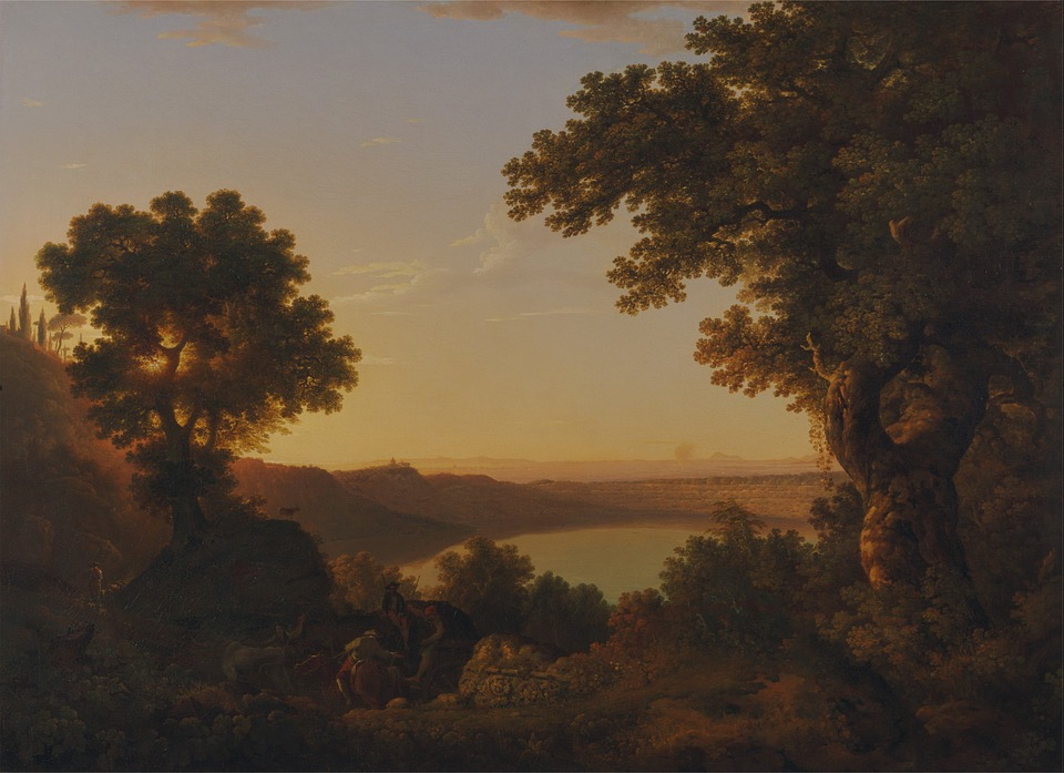 Thomas Jones, Painting, Oil On Canvas, Artistic, Nature
