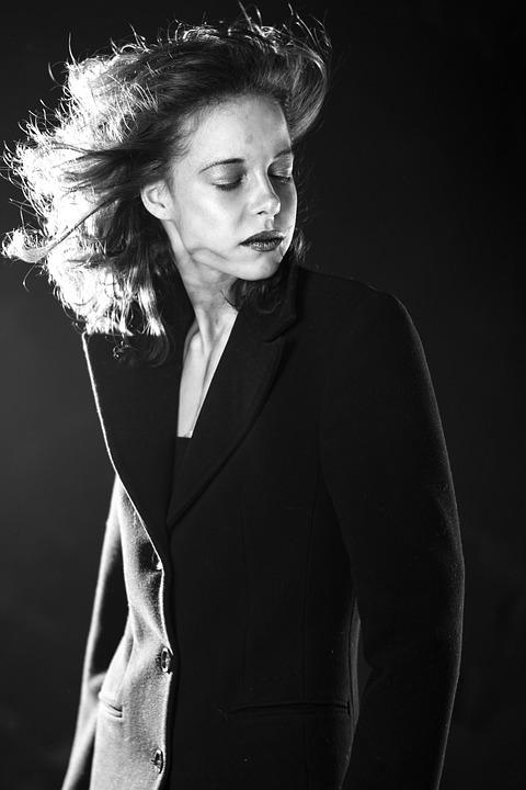 Portrait, Woman, Pose, Model, Human, Artistic