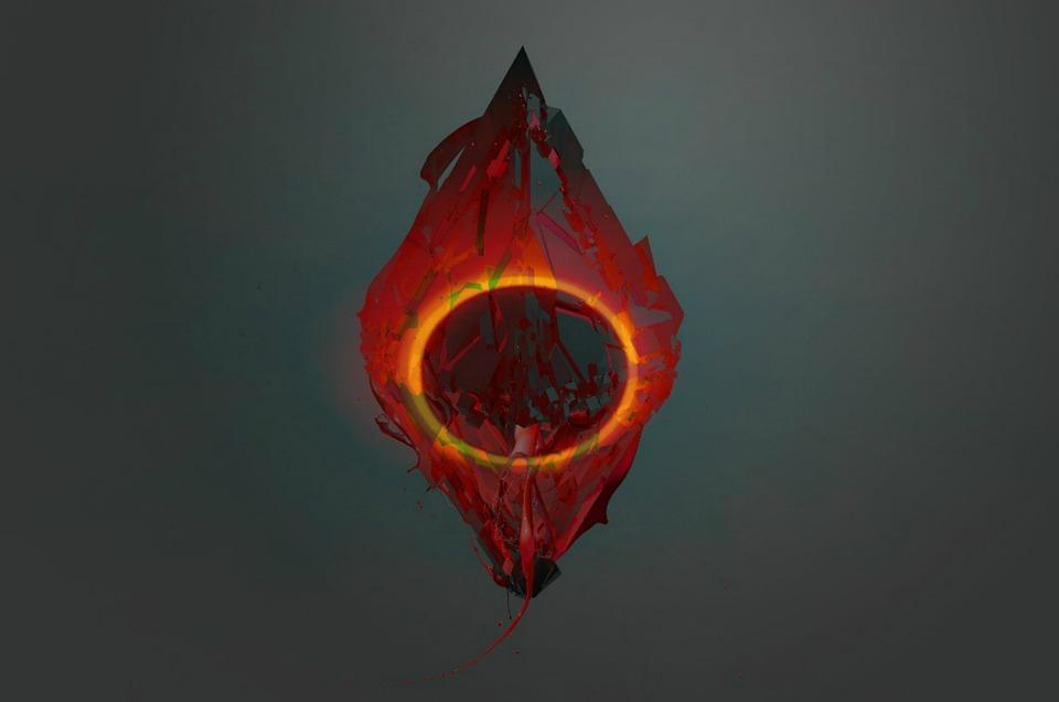 Solar Eclipse, Sun, Artistic