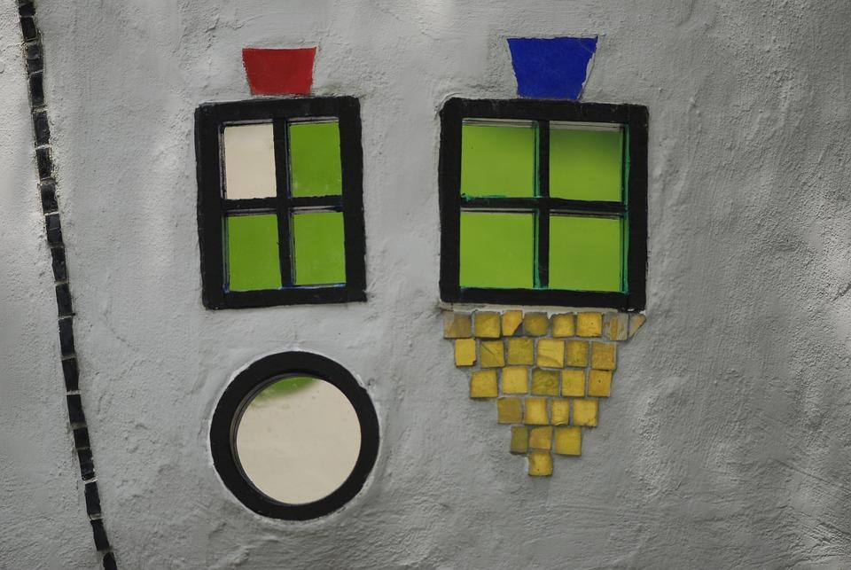 Wall, Westpark, Munich, Artists, Macro, Detail