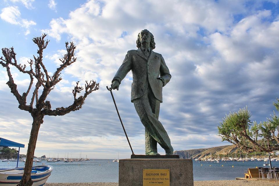 Artists, Painter, Genius, Monument, Surrealism, Spain