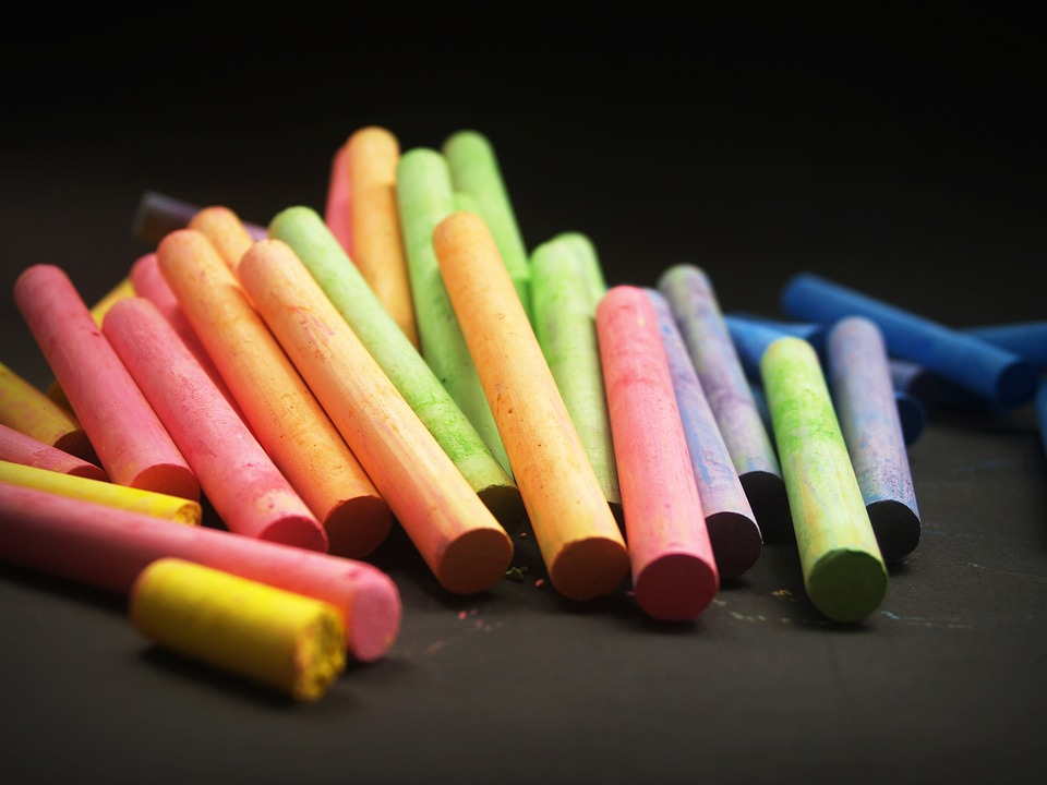 Chalks, Colorful, Multicolored, Drawing, Artistic, Arts