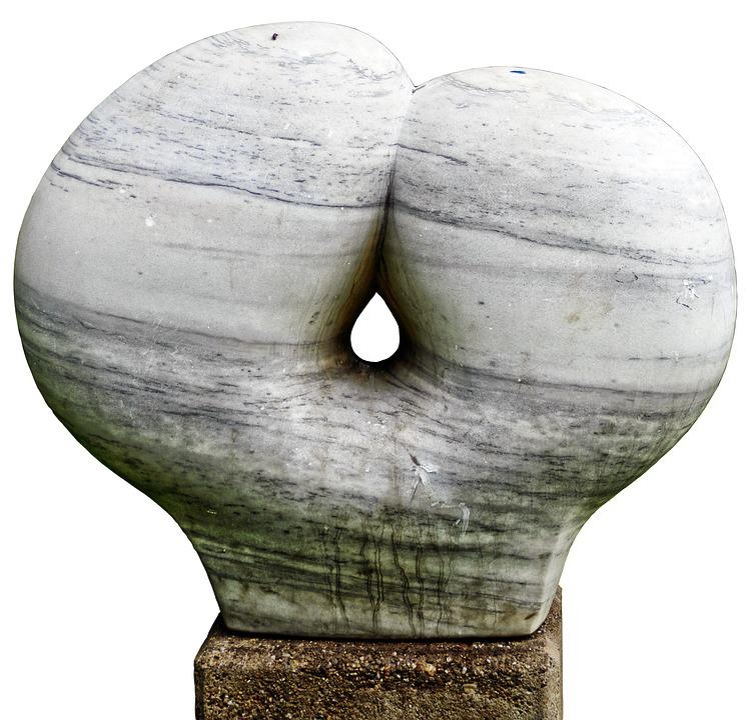 Sculpture, Torso, Gaudete, Marble, Art, Arts Crafts