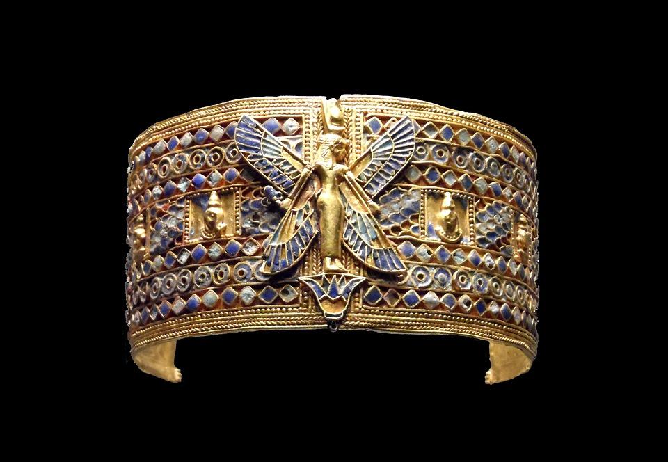 Bangle, Egyptian, Jewellery, Arts Crafts, Historically