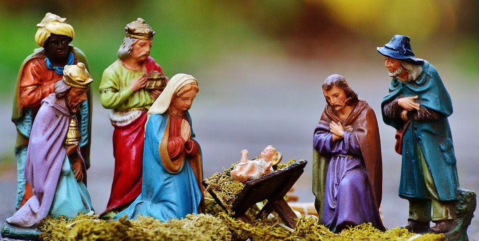 Christmas Crib Figures, Christmas, Arts Crafts