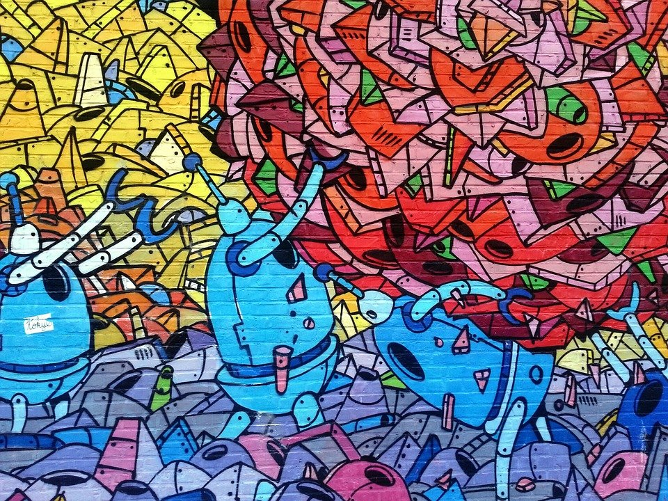 Graffiti, Wall, Mural, Painting, Arts, Colorful, Urban