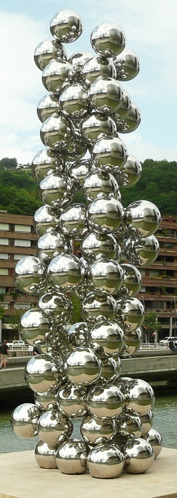 Bilbao, Balls, Guggenheim, Art, Artwork, Abstract