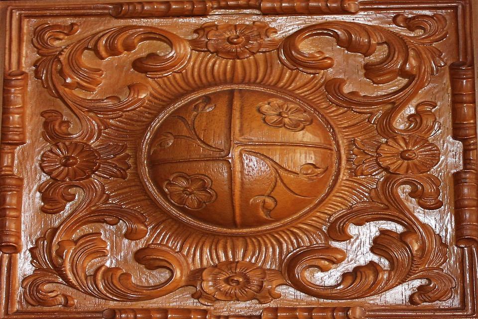 Wood, Carving, Artwork, Art