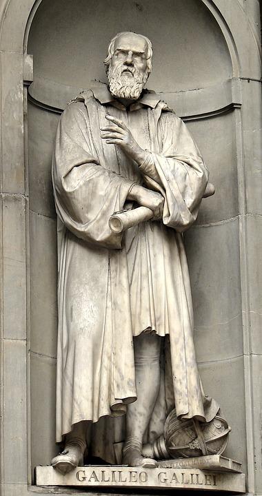 Galileo Galilei, Florence, Artwork