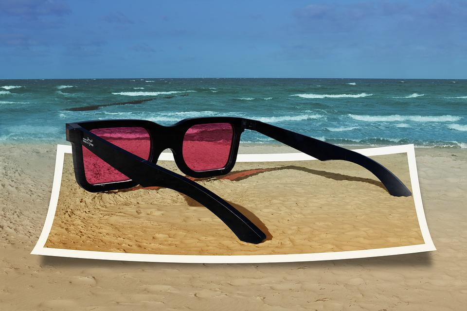 6bce9ea31b93 Free photo Artwork Moser Zingst Glasses Sea Pink Ii - Max Pixel