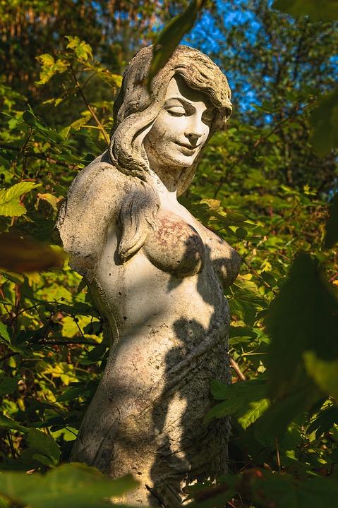 Sculpture, Woman, Statue, Stone, Art, Artwork, Naked