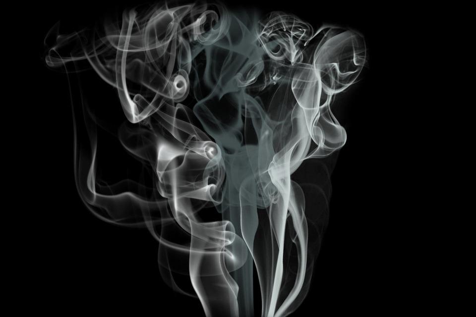 Smoke, Background, Artwork, Swirl, Abstract, Black