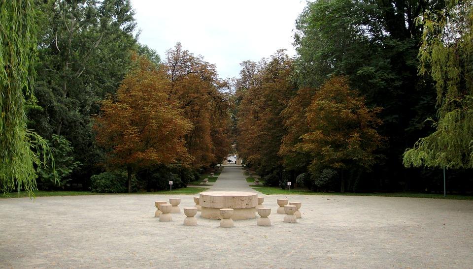 The Table Of Silence, Sculpture, Brancusi, Artwork