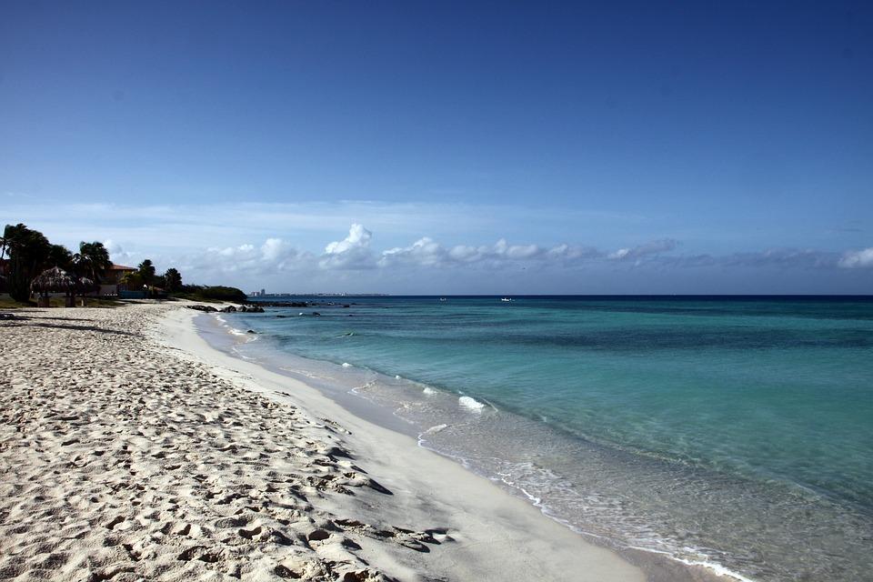 Beach, Aruba, Sand Beach, Sea, Holiday, South Sea