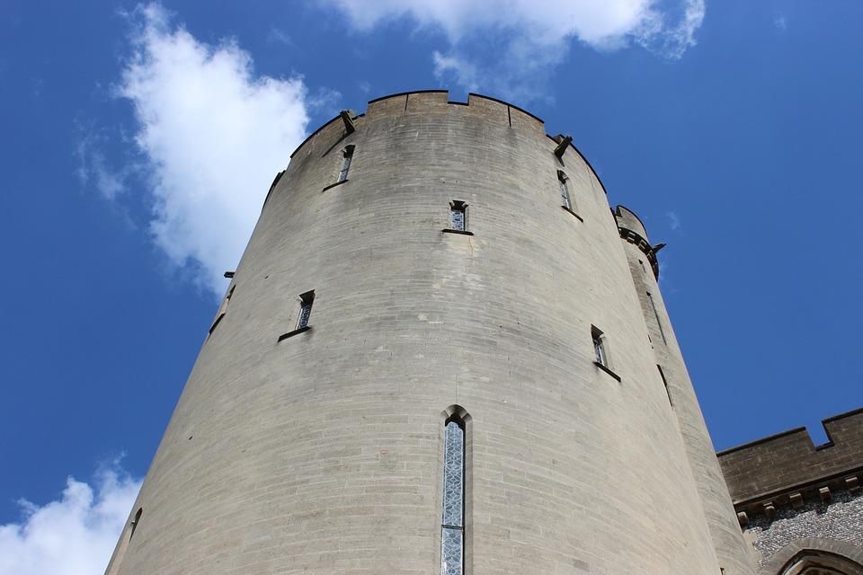 Arundel, Castle, Tower, Historic, Castle-fort, History