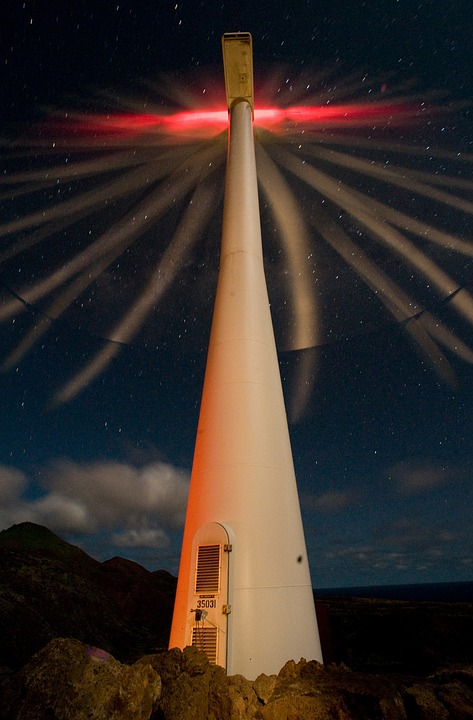 Ascension Island, Wind Turbine, Energy, Wind Power
