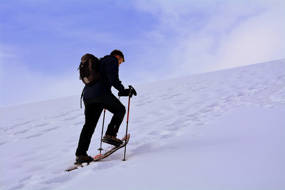 Ascent, Fatigue, Snow, Winter, Fun, Adventure, Cold