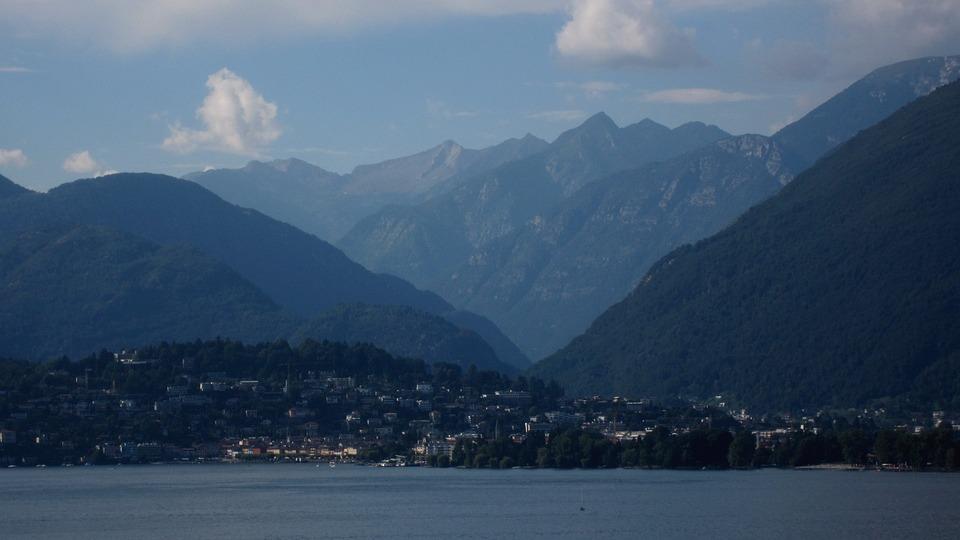Ascona, Switzerland, Lake, Mountains, Valleys, Swiss