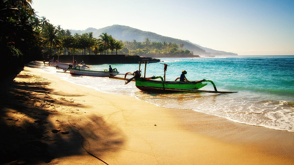 Bali, Beach, Travel, Boats, Holiday, Asia, Indonesia