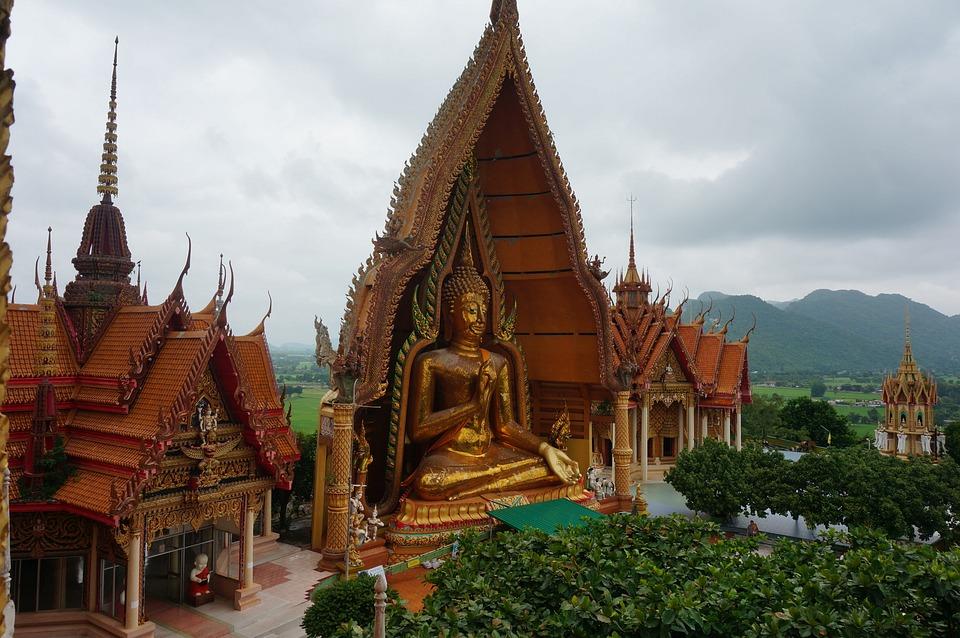 Wat Tham Sua, Tiger Cave Temple, Asia, Banita Tour