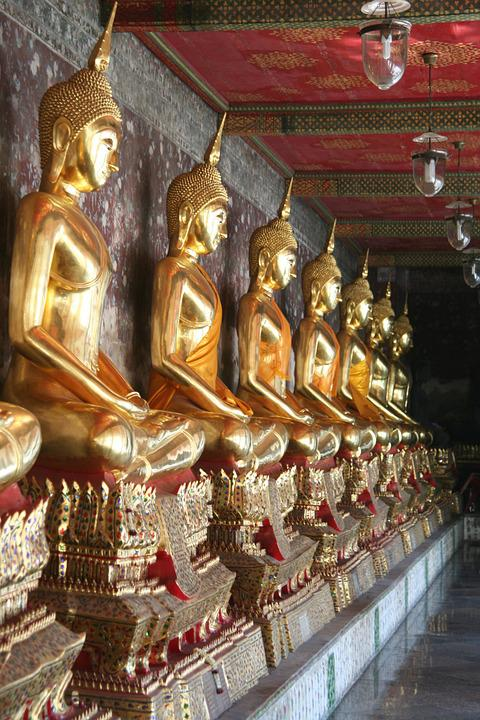 Asia, Buddha, Meditation, Zen, Buddhism, Thailand