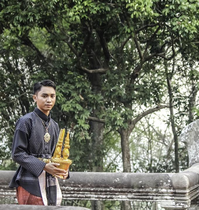 Thailand, Buddhism, Man, Spiritual, Buddha, Asia