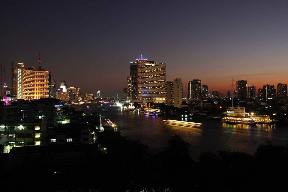 Bangkok, Thailand, Asia, Skyscraper, Building, City