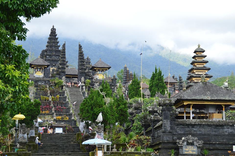 Besakih, Temple, Indonesia, Bali, Asia, History