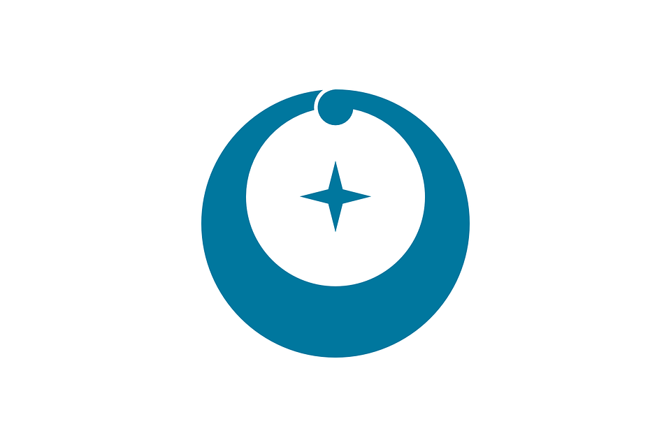 Flag, Japan, Asia, Asian, Crescent, Circle, Plus