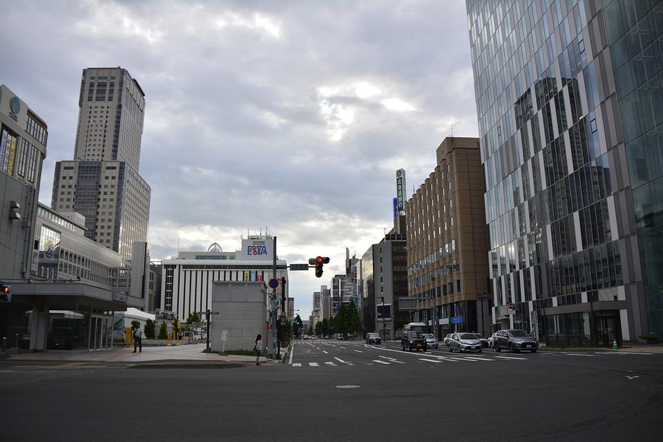 Japan, Sapporo, Hokkaido, Asia, Landmark, City