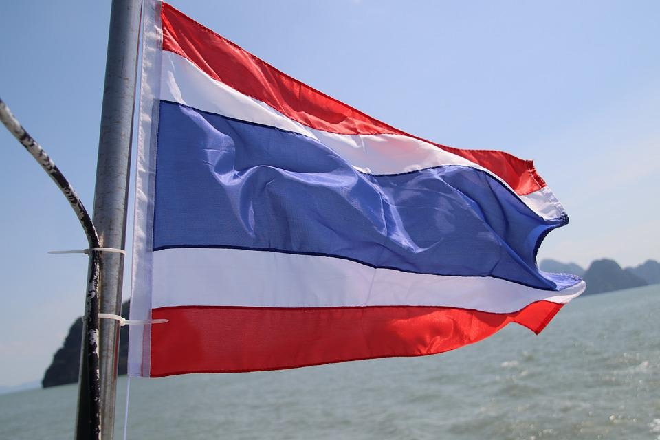Flag, Thailand, Asia, Nation, Patriotism