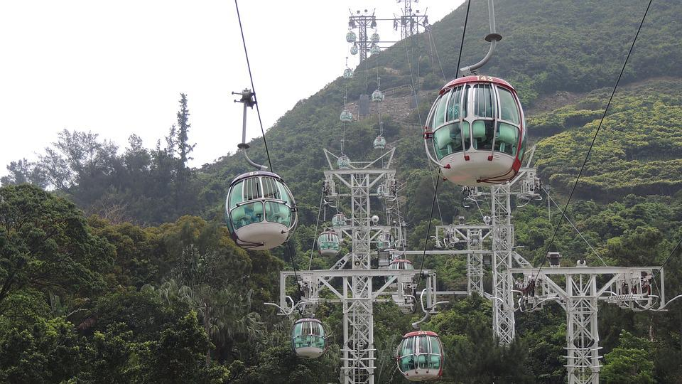 Hongkong, Ocean, Park, Hong, Kong, Sky, Nature, Asia