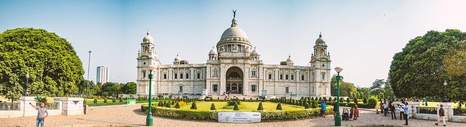 Kolkata, Victoria, Victoria Memorial, Panorama, Asia