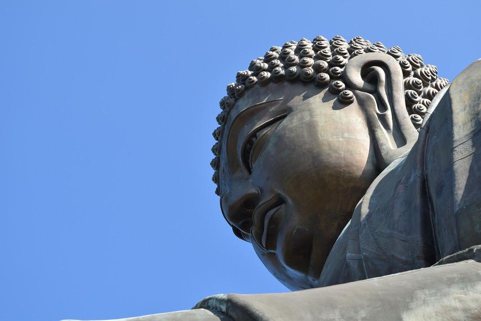 Buddha, Statue, Zen, Asia, Divinity, Sculpture, Face