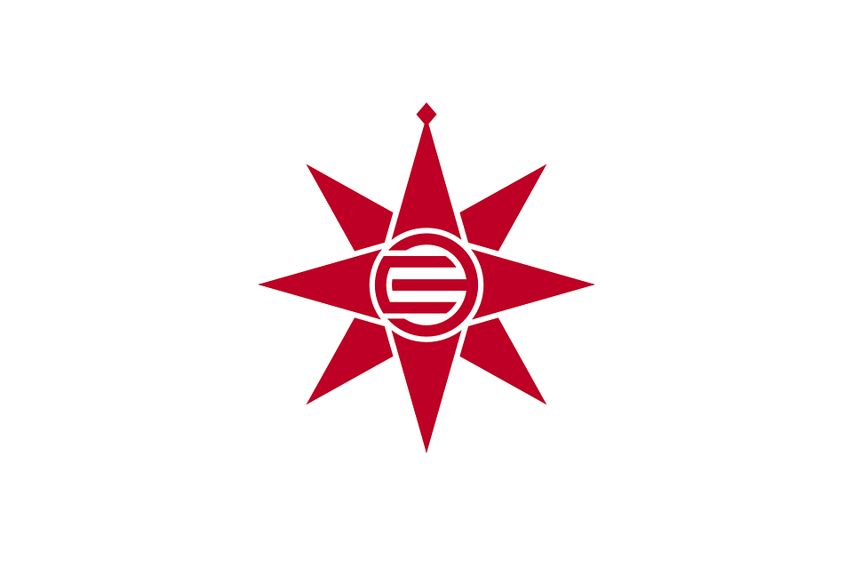 Flag, Star, Japan, Japanese, Asian, Asia